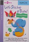 หนังสือสำหรับเด็ก Kumon 2 up - Let's Sticker & Paste!