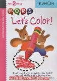 หนังสือสำหรับเด็ก Kumon 2 up - More Let's Color