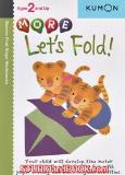 หนังสือสำหรับเด็ก Kumon 2 up - More Let's Fold
