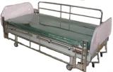 เตียงผู้ป่วย 2ไกร์ ปรับมือ พื้นไม้อัด ADS100