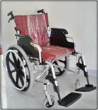 รถเข็นผู้ป่วยแบบอลูมิเนียมอัลลอยด์ น้ำหนักเบา (Full Option)
