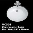 อ่างใต้เคาน์เตอร์ในห้องน้ำ (MC303)