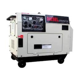 เครื่องกำเนิดไฟฟ้าดีเซล ETQ -DG6LN (Sound Proof)