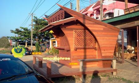 บ้านน็อคดาวน์ ซุ้มไม้ บ้านเรือนไทย 010