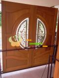 ประตูไม้สัก บานคู่ 24