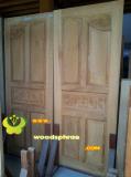 ประตูไม้สัก บานคู่ 51
