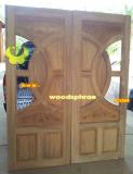 ประตูไม้สัก บานคู่ 59