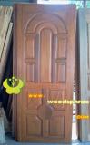ประตูไม้สัก บานเดี่ยว 09