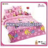 ผ้าปูที่นอน Barbie BR 21