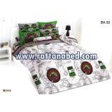 ผ้าปูที่นอน BEN 10 BA 02