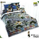 ผ้าปูที่นอน BEN 10 BT 02
