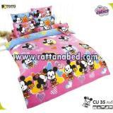 ผ้าปูที่นอน Disney Cuties CU 35