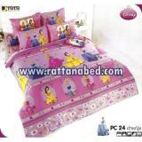 ผ้าปูที่นอน Disney Princess PC 24