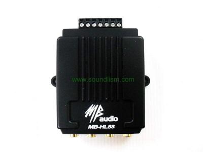 ตัวแปลงสัญญาณไฟ HI TO LOW รุ่น MB AUDIO MB-HL88