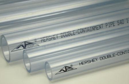 ท่อพีวีซีใส Hershey Clear PVC Pipe