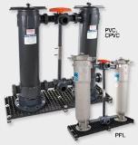 เครื่องกรองน้ำคู่ Single or Double Length - PVC