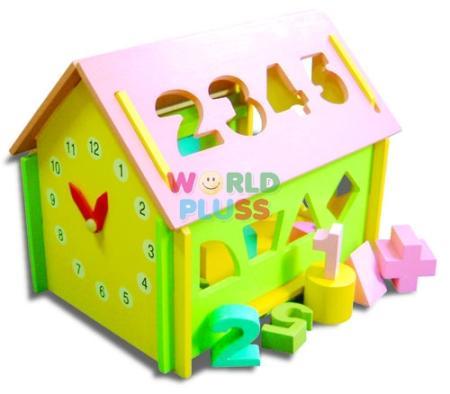 ของเล่นบ้านน้อยคณิตศาสตร์ WP-L-T2027