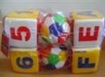 ลูกบอลและลูกเต๋านุ่มนิ่ม WP-U-012