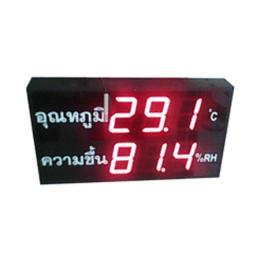 เครื่องวัดอุณหภูมิ/ความชื้น SMS-TH