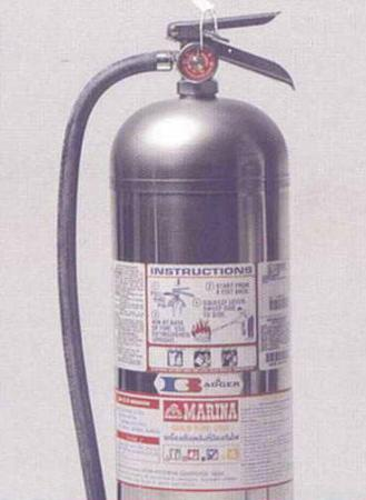 เครื่องดับเพลิงชนิดบรรจุน้ำผสมน้ำยา มารีน่า