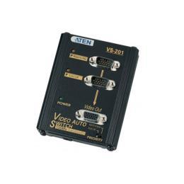 อุปกรณ์ประกอบด้วยตัวส่งATEN VGA selector