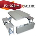 โต๊ะปิกนิกพับเก็บได้ KOMMET รุ่น PX-028-M