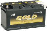 แบตเตอรี่รถยนต์ Gold 2600-MF