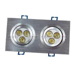 ไฟ 6 1W LED Ceiling downlight