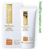 ครีมกันแดด Physical Sunscreen SPF52 15 G. (white)