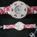 นาฬิกาแฟชั่นสายถัก นาฬิกาข้อมือผู้หญิง