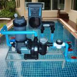 เครื่องกรองน้ำสระว่ายน้ำ กรอง+ระบบเกลือ