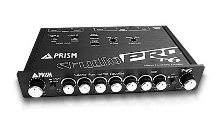 ปรีแอมป์รถยนต์ Prism Studio-pro T6 (new)