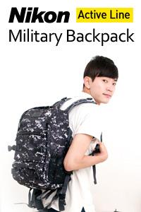 กระเป๋าเป้ Nikon Military Backpack