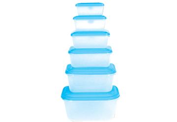กล่องใส่อาหารพลาสติก TD-501 CRP 0.43 lt.