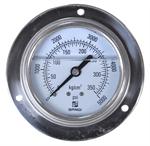 เกจ์วัดความดันแบบมีน้ำมันหล่อกันกระเทือน SANGI TYPE D (oil)