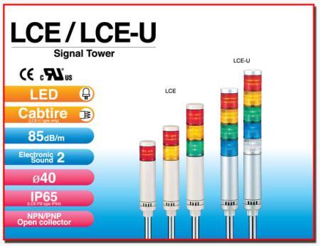 ไฟสัญญาณเตือนแบบชั้น Signal Tower LCE / LCE-U