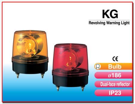 ไฟสัญญาณเตือนแบบหมุน KG