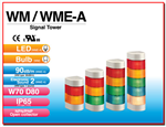 สัญญาณไฟแบบติดฝาผนัง WM / WME-A