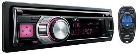 เครื่องเสียงรถยนต์JVC KD-R605/R606