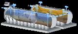 ถังบำบัดน้ำเสียขนาดใหญ่Aqua Bio Compact Bio Series (ABC)
