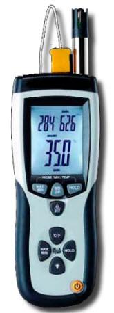 เครื่องวัดความชื้นและอุณหภูมิแบบอินฟราเรด TH-614P