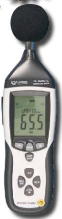 มิเตอร์วัดระดับความดังเสียง  SL-8050IL