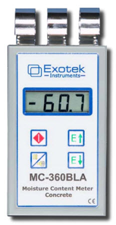 เครื่องวัดความชื้นไม้และวัสดุก่อสร้าง MC-360BLA