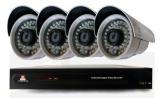 ชุดกล้องวงจรปิด UFO-01 4ตัว +DVR 4CH UFO900BL