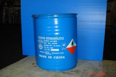 โซเดียมไฮโดรซัลไฟต์ 90% จีน