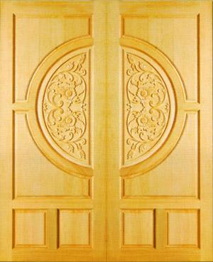 ประตูไม้ PD-201 C