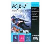 กระดาษอิงค์เจ็ท K-JET PGS 270g
