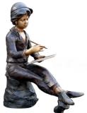 รูปปั้นเด็กผู้ชาย SBF2-004