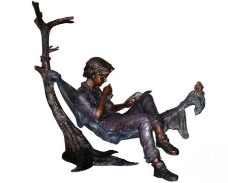รูปปั้นเด็กผู้ชาย SBF3-027