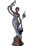 รูปปั้นผู้หญิง SBF3-035
